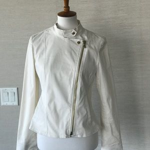 New Winter White Mint Condition Jacket NWT